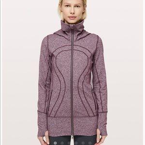 Lululemon In Stride Purple Jacket